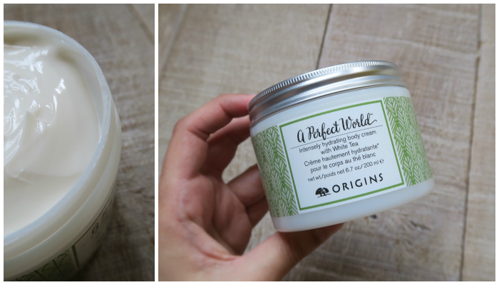 FRIDAY FAVOURITE: Origins – 'A Perfect World' body cream