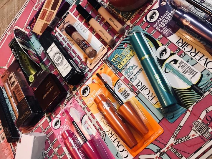 HAUL: New York City make-upbuys