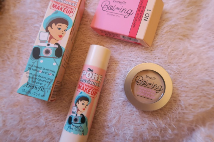 TRIED & TESTED: Benefit – Boi-ing Industrial Strength Concealer & the Porefessional Pore Minimizing Make-Up