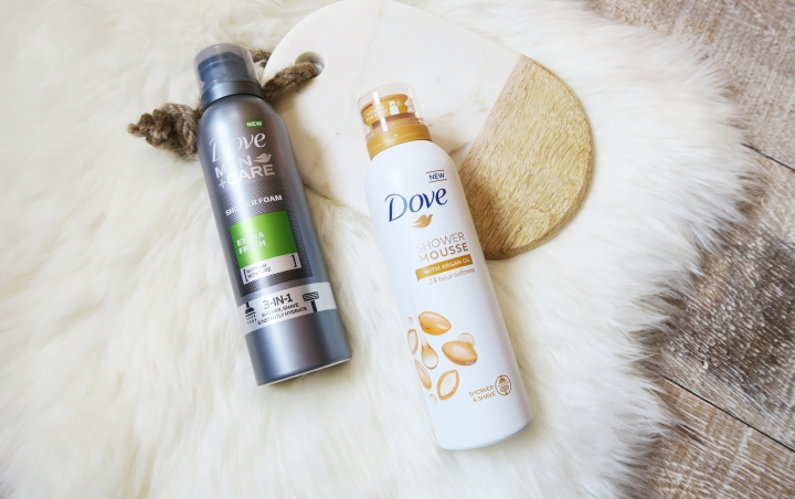 TRIED & TESTED: Dove – Shower Mousse Argan Oil & Shower Foam Extra Fresh
