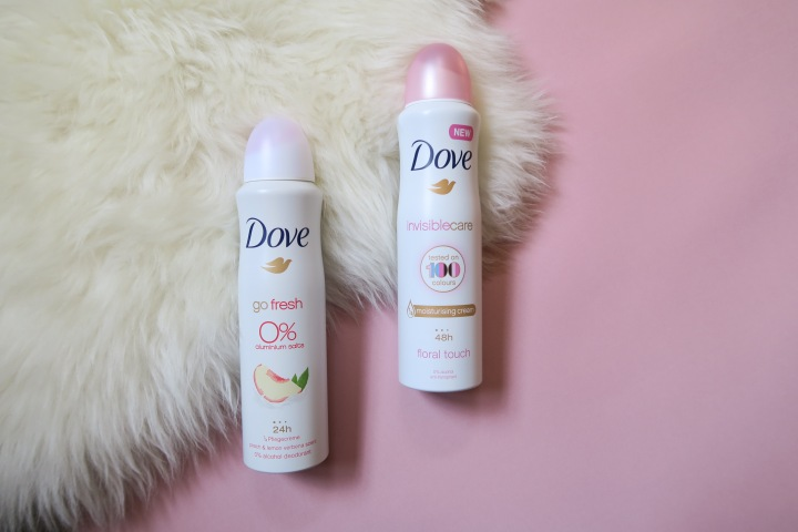 TRIED & TESTED: Dove – Go Fresh deodorant & Invisible Careantitranspirant
