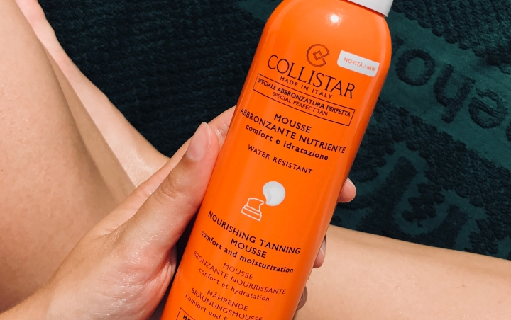 TRIED & TESTED:  Collistar – Nourishing Tanning Mousse