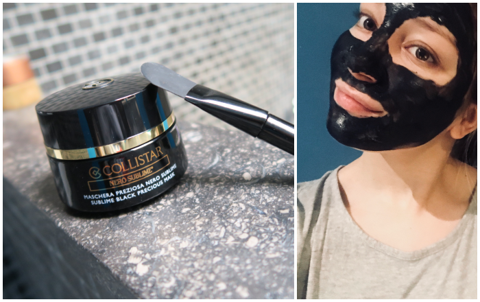 MASK MONDAY: Collistar – Nero Sublime Black Precious Mask