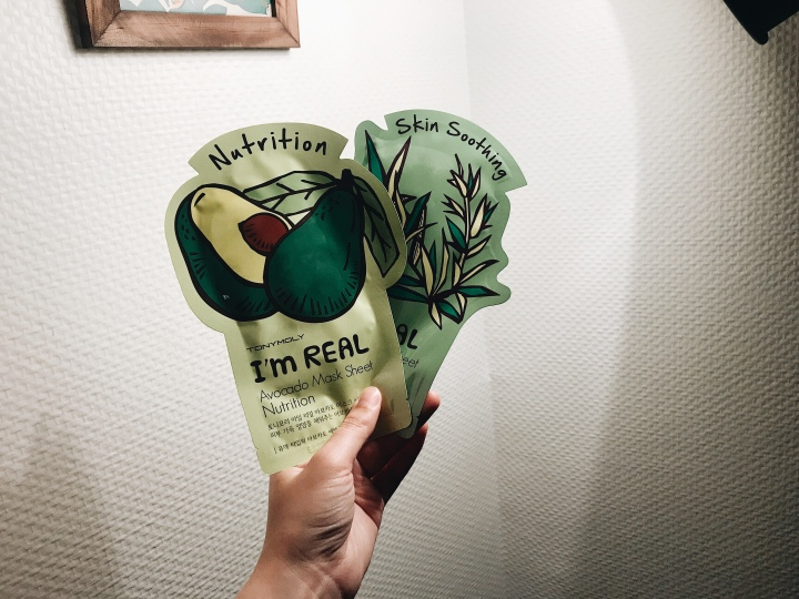 TonyMoly I'm Real Avocado Mask Sheet Nutrition | Beauty Review | himartine.com