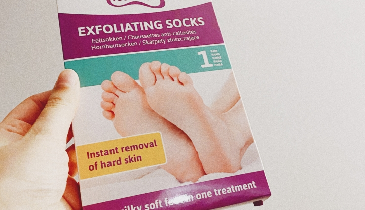 TRIED & TESTED: Action – Exfoliating Socks