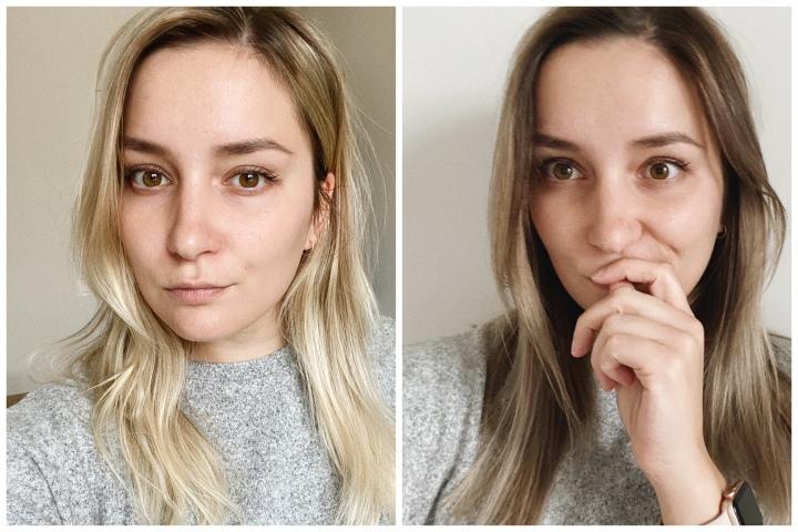 HAIR UPDATE: from blonde tobrunette